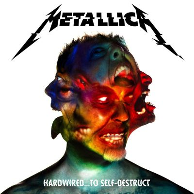 metallica hardwired to self destruct portada