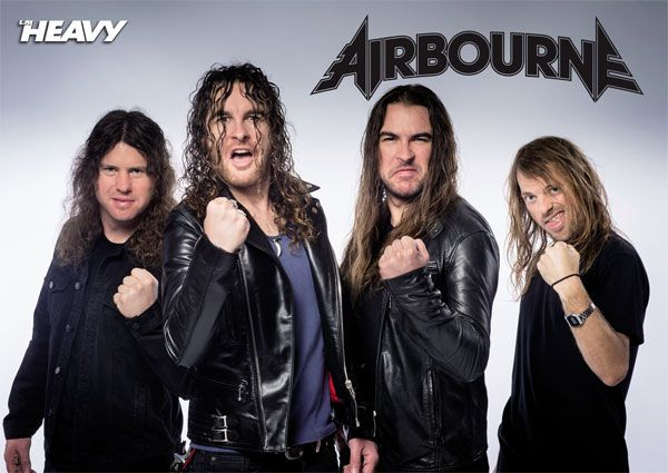 Poster Airbourne 2016 la heavy