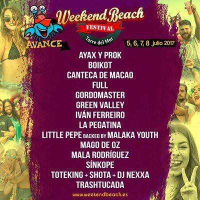 confirmaciones-primeras-weekend-beach-2017