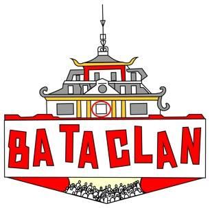 Sala Bataclan ilustrada