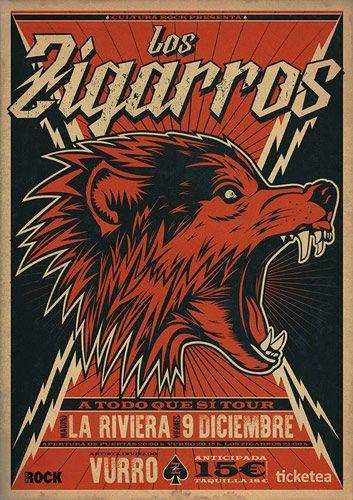 la-riviera-poster-los-zigarros
