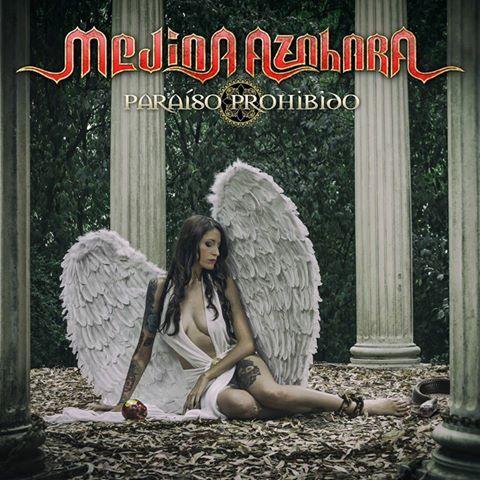 Portada del decimonoveno álbum de estudio de Medina Azahara: Paraíso Prohibido