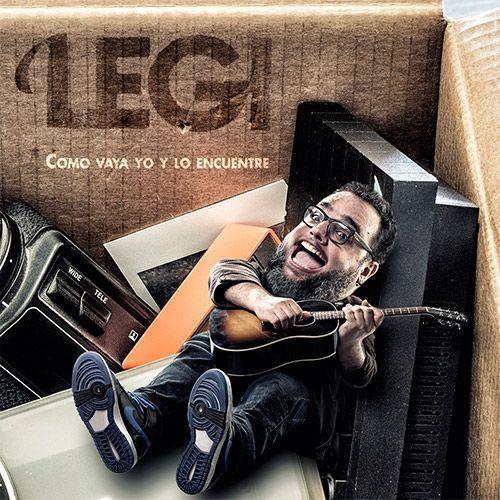 Portada del disco 'Como vaya yo y lo encuentre' de Legi