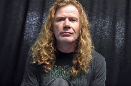 "MOVIMIENTO ROCKERO VENEZOLANO: Dave Mustaine ""Tan pronto ..."