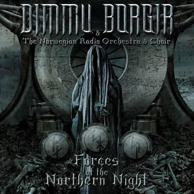 Portada del disco Forces of the Northern Light de Dimmu Borgir