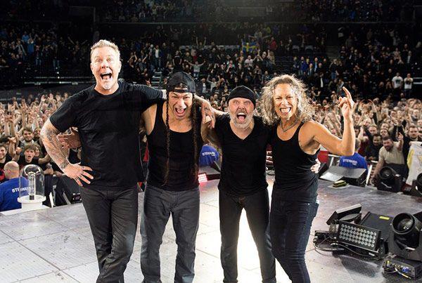Metallica confirma la gira europea Ha sido terminar los conciertos en Dinamarca y hacerlo público. ¡Os esperamos!