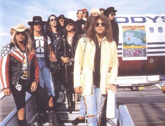 Bon Jovi 9 moscú aeropuerto