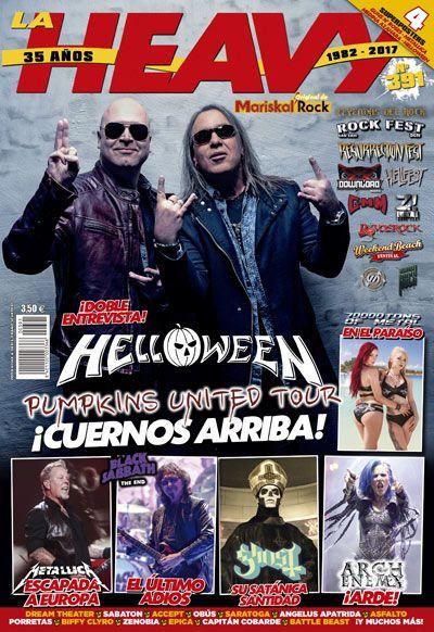 Revista La Heavy 391 Helloween