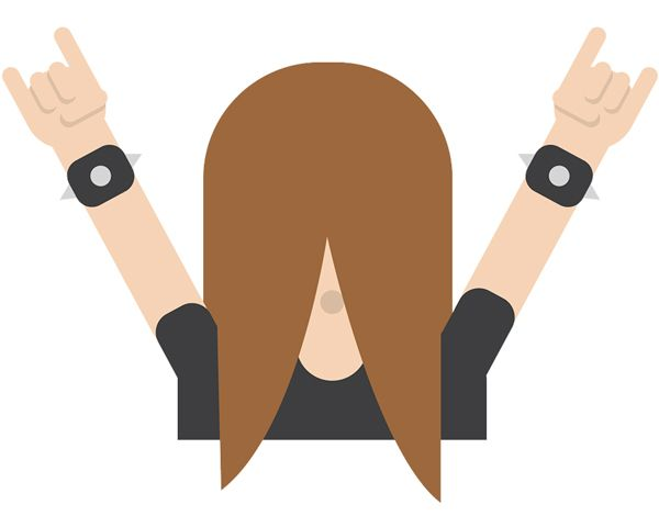 emoji-headbanger-cuernos