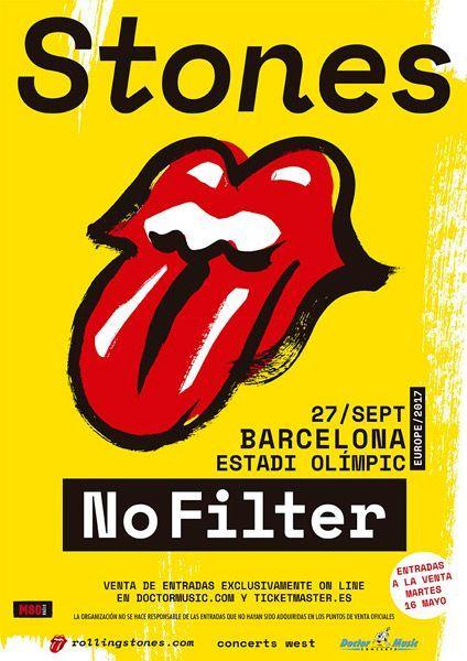Gira-Stones-2017-Barcelona-póster
