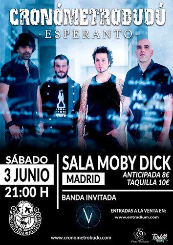 cronómetrobudú-Madrid-póster