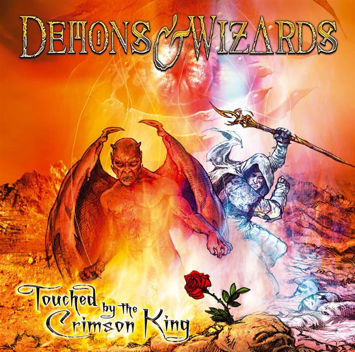 demons and wizards touched by the crimson king