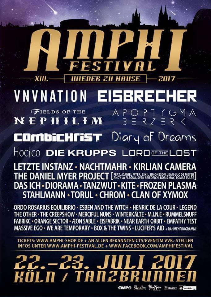amphi festival line up
