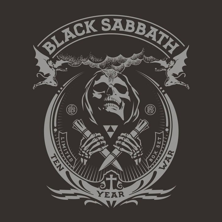 black sabbath the ten year war portada