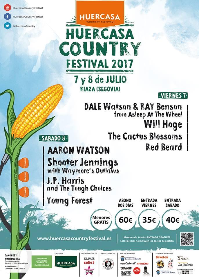 cartel final huercasa country festival 17+