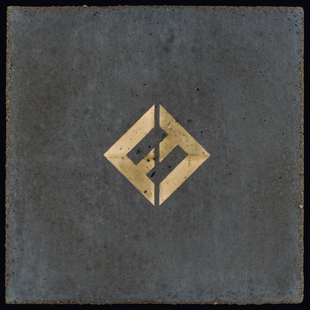 portada foo fighters Concrete and Gold