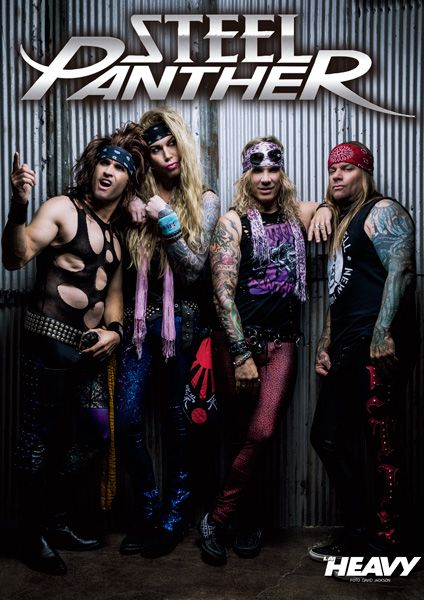 Steel-Panther-Póster-La-Heavy-395