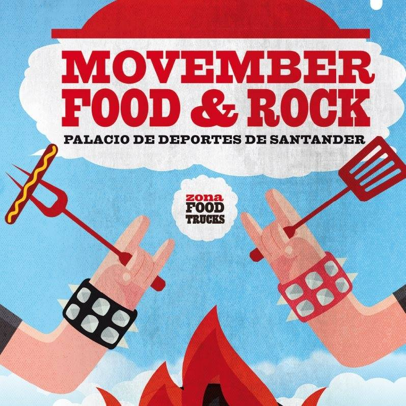movember food and rock