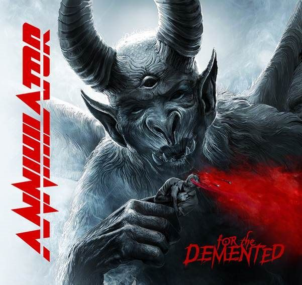 Annihilator for the demented portada
