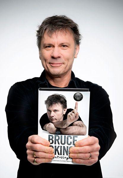 ¿Para qué sirve este botón? Una autobiografía de Bruce Dickinson.