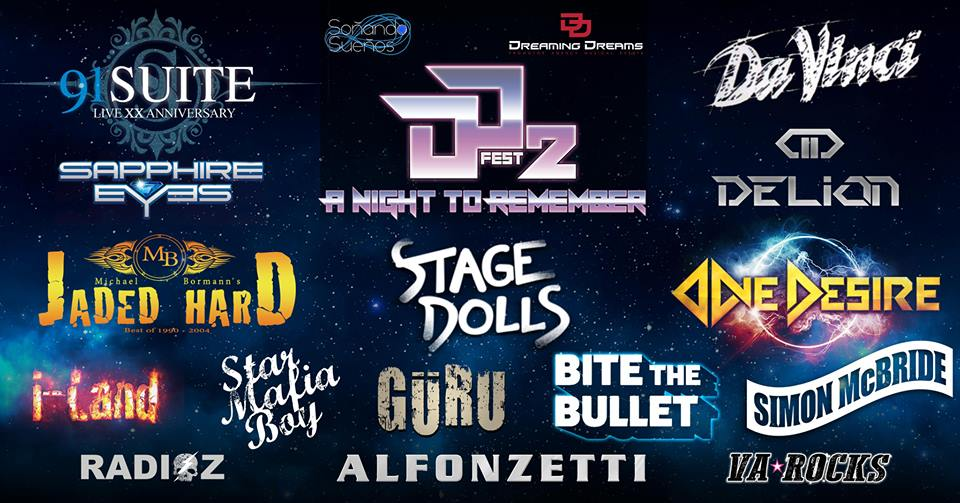 DD Fest 2 cartel completo