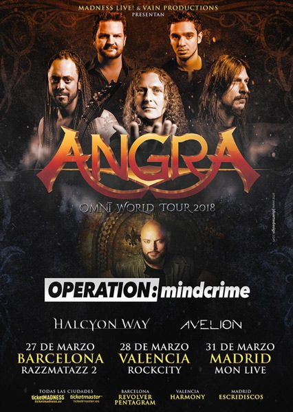 Póster-Angra-Operation-Mindcrime-gira-2018