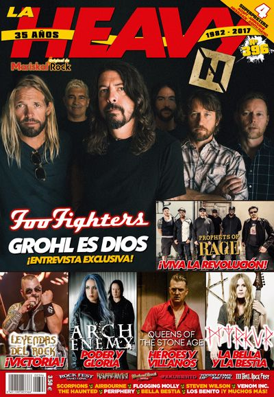 revista La Heavy 396 Foo Fighters portada