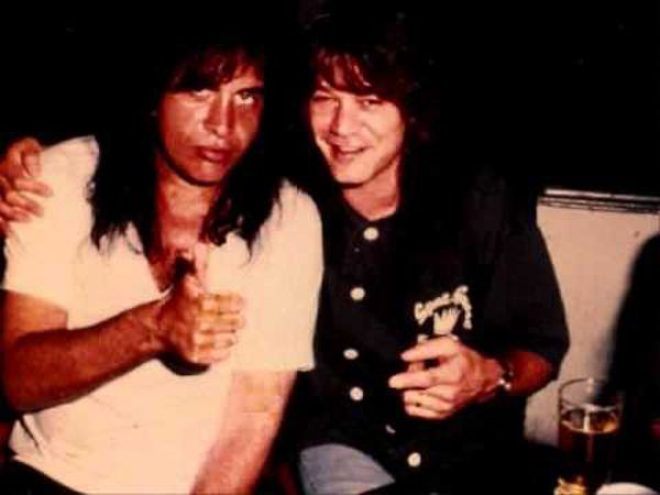 Gene Simmons (Kiss) y Eddie Van Halen