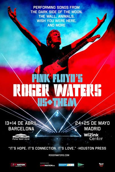 Roger-Waters-Us-Them-Pink-Floyd-Gira-España-Madrid-Barcelona-2018