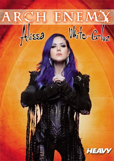 Alissa White-Gluz - Arch Enemy poster 2017