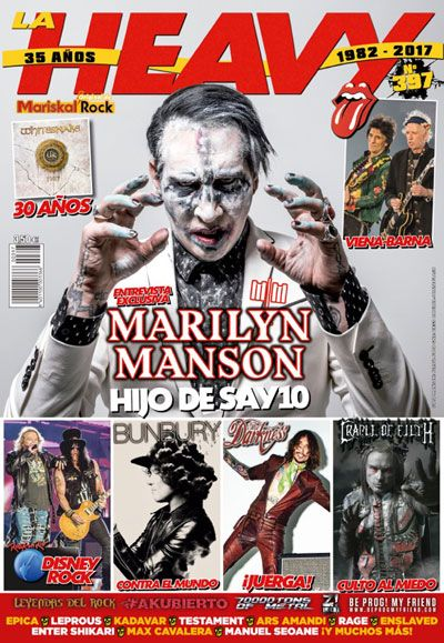 revista La Heavy 397 Marilyn Manson