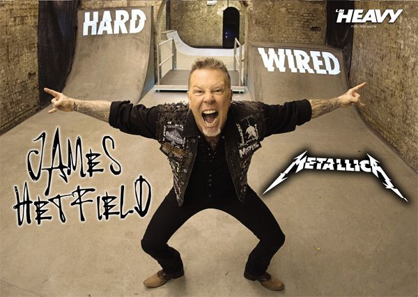 James Hetfield - Metallica poster Ross Halfin