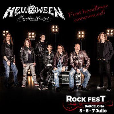 Rock Fest Barcelona 2018 - Helloween
