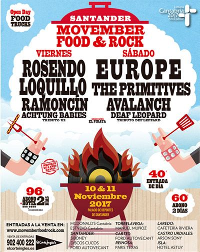 festival movember food & rock 2017