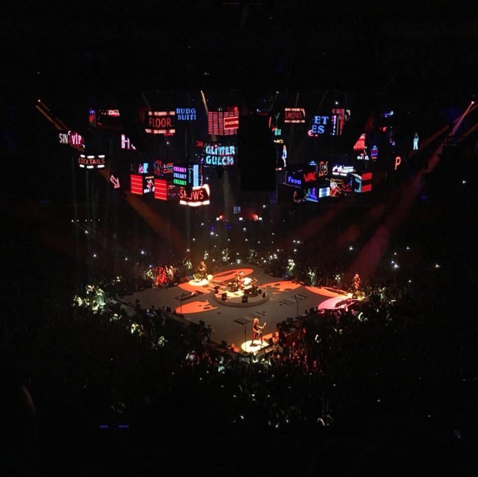 Metallica concierto Madrid WiZink Palacio de los Deportes 2018