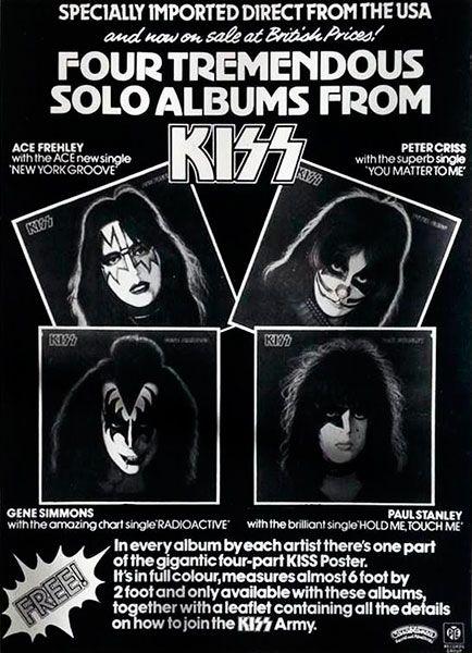 """detailed look 93a69 992dc Ninguno de los discos causó una gran sensación en las listas. Sólo Ace tuvo  un single de éxito, """"New York Groove"""" que alcanzó el nº13 en Billboard."""