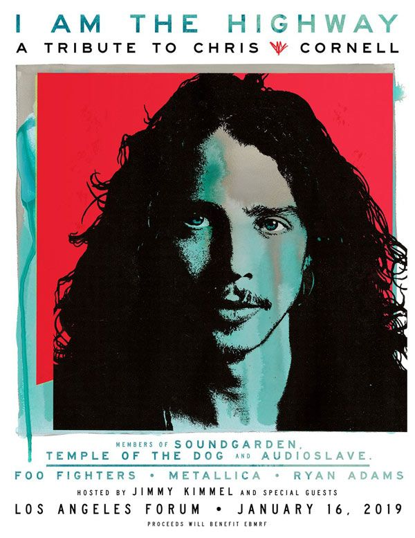 Metallica y Foo Fighters participarán en el tributo a Chris Cornell