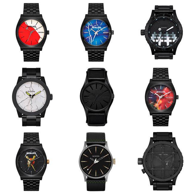 8f1e47215f98 Los hombres de negro han unido fuerzas con la marca Nixon para llevar al  mercado su línea de relojes. Los distintos modelos ya se encuentran  disponibles ...