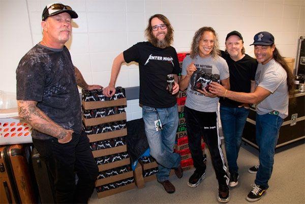 Cerveza Metallica es lanzada al mercado