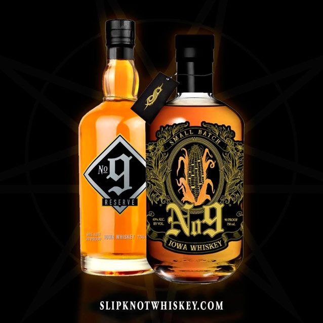 Slipknot lanza su propio whisky
