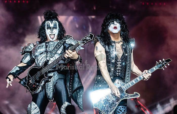 Kiss en Londres (2019). Foto: Hughes Vanhoucke