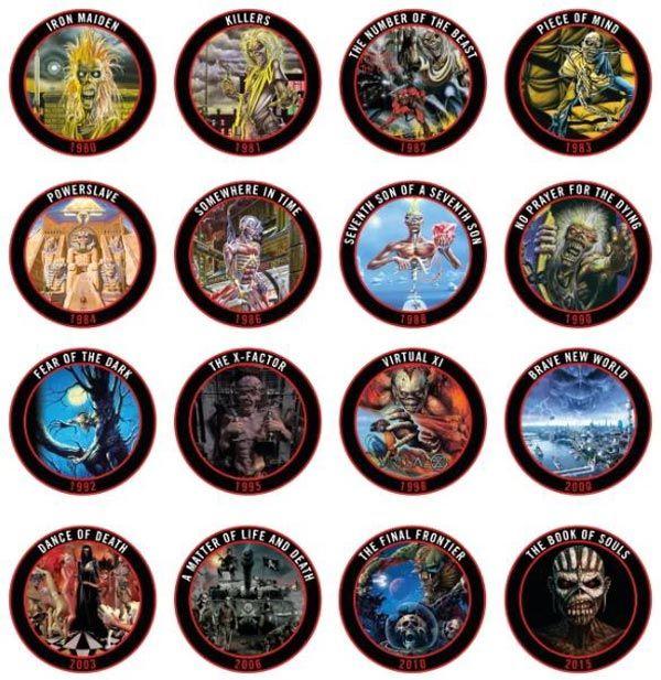 Iron Maiden será distinguida por el Congreso de la Nación