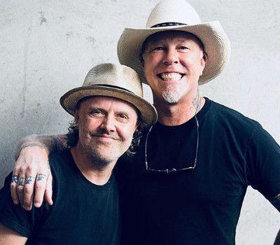 Lars Ulrich optimista frente a la recuperación de James Hetfield