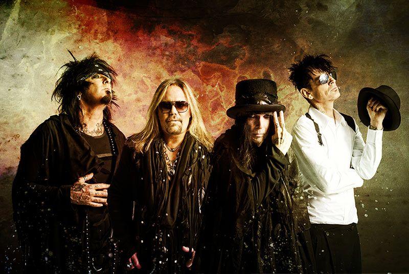 Mötley Crüe regresa a los escenarios junto a Poison y Def Leppard