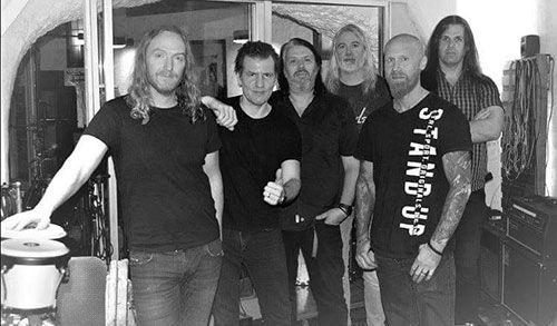 Dark Tranquillity en el estudio preparando su próximo disco