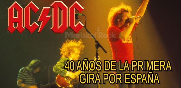 primera gira AC/DC españa