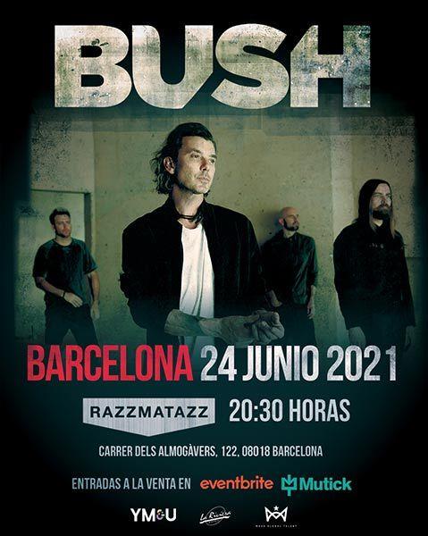 bush concierto barcelona