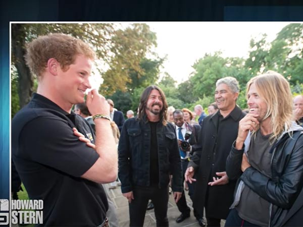 foo fighters príncipe harry